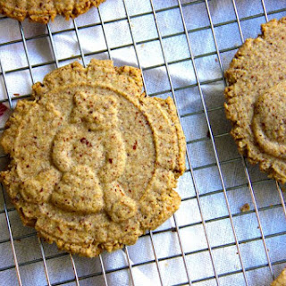 Cinnamon Spiced Almond Meal Cookies.