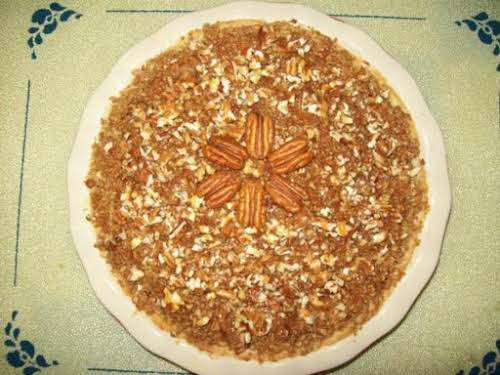"Caramel Apple Pecan Crunch Pie ""My family loves this! I have received..."