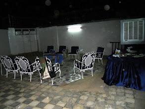 Photo: Il cortile dove abbiamo mangiato