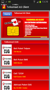 Telkomsel AS Client screenshot 1