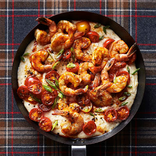 Polenta Bake With Shrimp