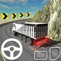 Spiral Truck Driver Modern Driving Truck Games icon