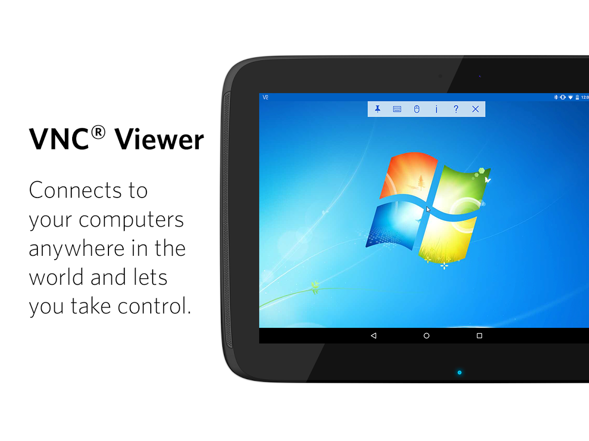 VNC Viewer - Remote Desktop: captura de pantalla