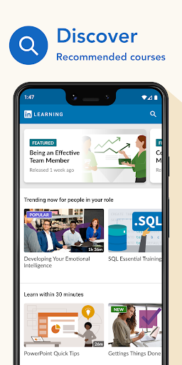 LinkedIn Learning: Online Courses to Learn Skills 0.141.1 Screenshots 1