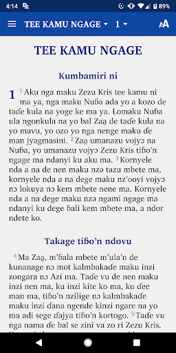 Rito New Testament screenshot 2