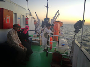 Photo: The ferry to Egypt (Lake Nasser)