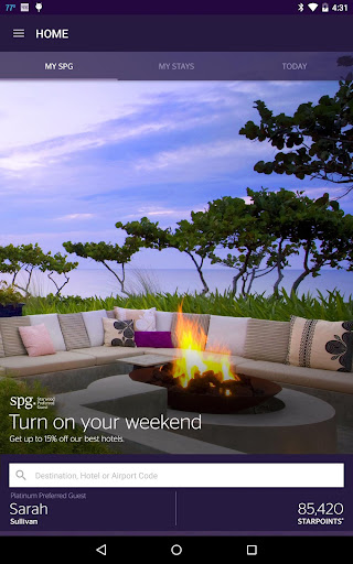 SPG: Starwood Hotels & Resorts  screenshots 9