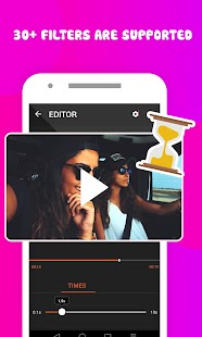 Video editor - Video player - náhled