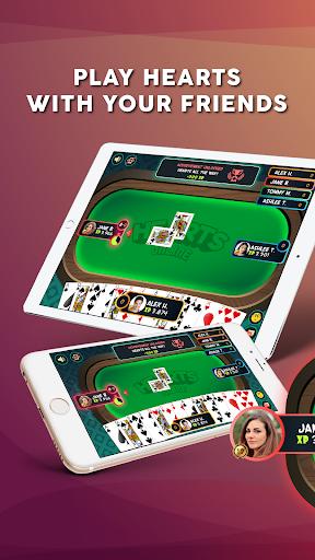 Hearts - Play Free Online Hearts Game 1.1.3 screenshots 1