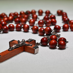 Rosary by Raymond Umlas - Artistic Objects Other Objects ( rosary, religious object )