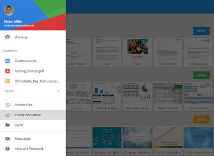 OfficeSuite + PDF Editor Screenshot 15