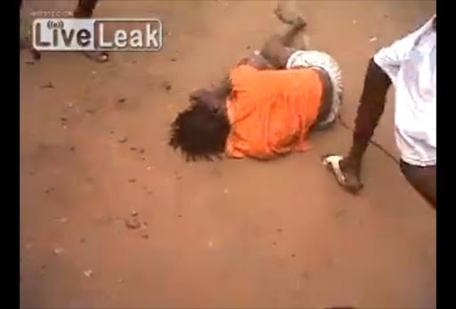 A shocking video has emerged out of South Africa which (allegedly) shows ANC party members brutally beating a COPE party supporter to death around the time of the just ended national elections.