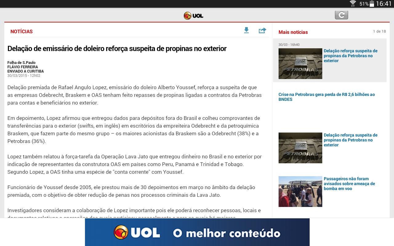 UOL - screenshot