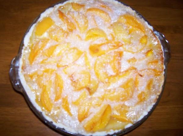 Peach And Tapioca Pie With Mix In Pie Plate Crust Recipe