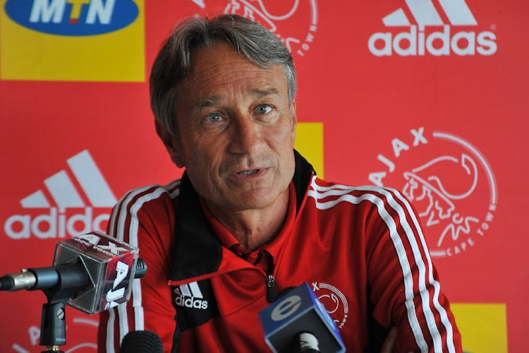 Ajax Cape Town coach Muhsin Ertugral. Picture: GALLO IMAGES