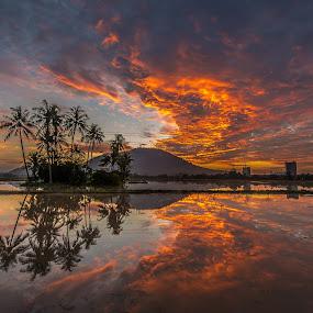 Permatang Rawa by Lim Keng - Landscapes Sunsets & Sunrises