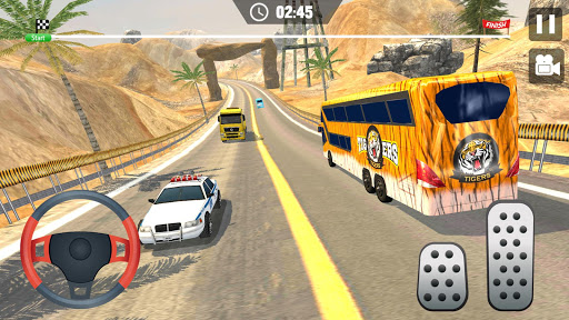 Offroad Hill Climb Bus Racing 2020 screenshots 2