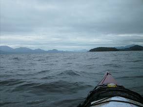 Photo: Looking north up Fitz Hugh Sound just south of Namu.