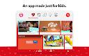 screenshot of YouTube Kids