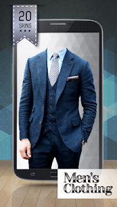 Men's Clothing Photo Montage screenshot 1