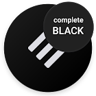 Swift Black Substratum Theme +Oreo & Samsung theme icon