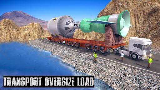 Simulateur de camion de transport de fret  captures d'écran 5