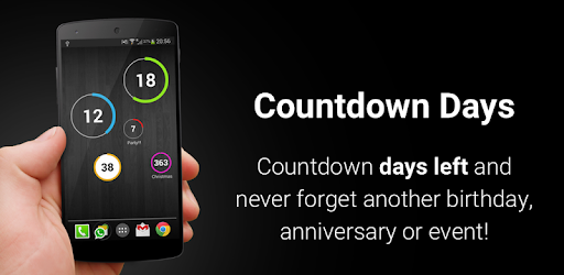 Widget Calendario Android.Countdown Days App Widget Apps On Google Play