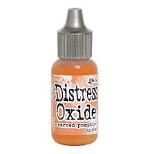 Tim Holtz Distress Oxide Ink Reinker 14ml - Carved Pumpkin