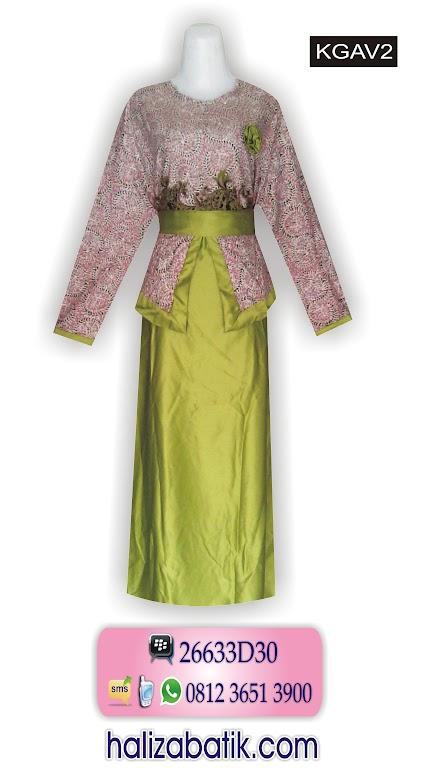 macam macam model batik wanita, baju batik muslim, model baju batik wanita modern