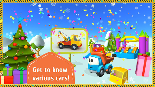 Leo the Truck and cars: Educational toys for kids 1.0.37 screenshots 1