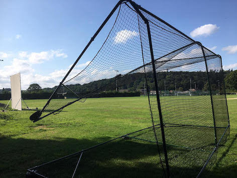 Smoke grenade vandals target cricket club
