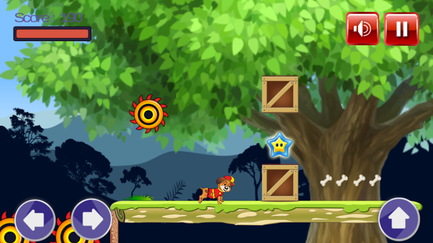 android Paw Puppy Jungle Fun Patrol Screenshot 1