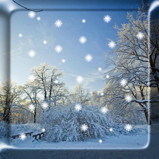 冬の雪のライブ壁紙のHD無料(PRO): 個人化 App LOGO-APP開箱王