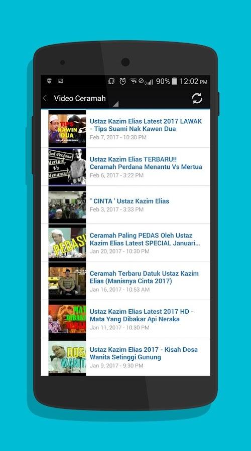 Ustaz Kazim Elias Ceramah Screenshot