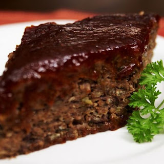 """Spicy BBQ """"Meatless"""" Loaf."""