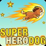 Super Hero Dog Icon