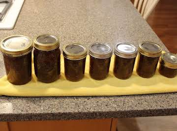 FIG or PEAR PRESERVES...The Old Fashioned Way