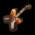 黒いエレキギター