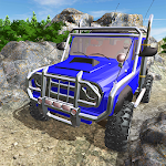 Offroad Jeep Hilly Adventure Icon