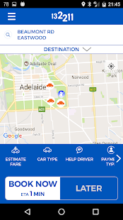 Adelaide Independent Taxis- screenshot thumbnail