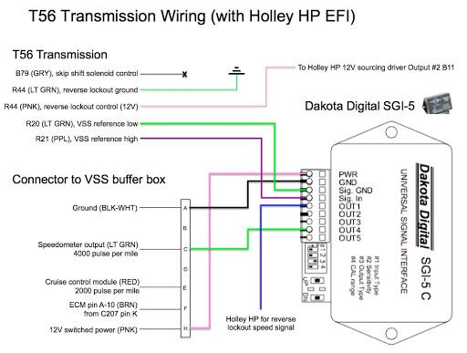 ford automatic transmission wiring diagram t56 transmission wiring diagram holley hp on my ls swapped f-body.