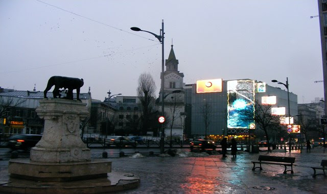 RAINY WEATHER BUCHAREST IN FEBRUARY