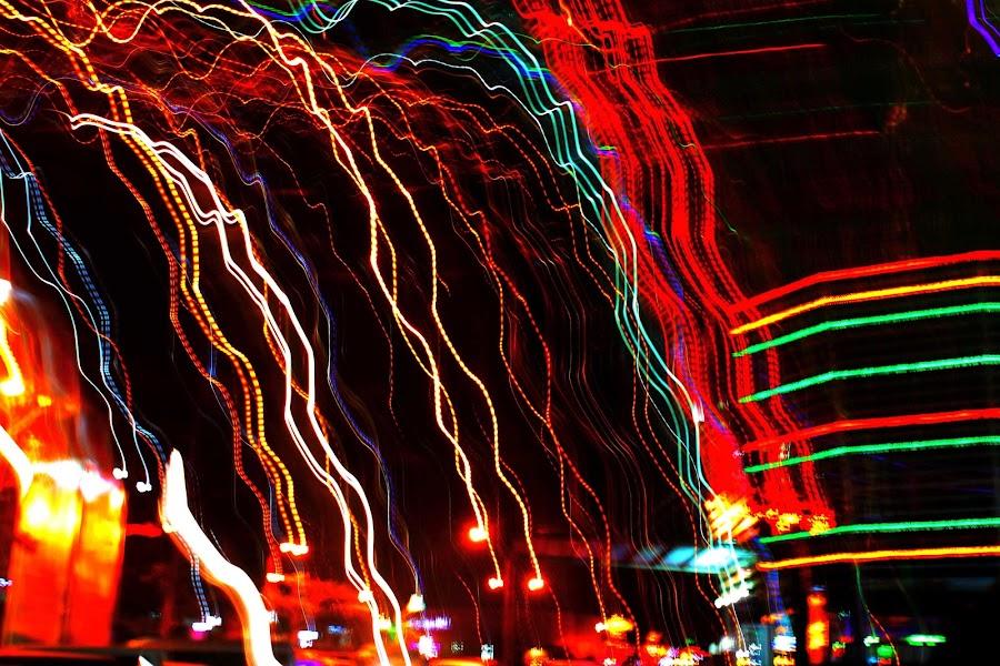 Meni Pajuraweut by Dedi Sukardi - Abstract Patterns ( low key, night shot )