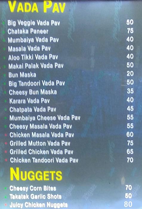 Pizzoccheri menu 7