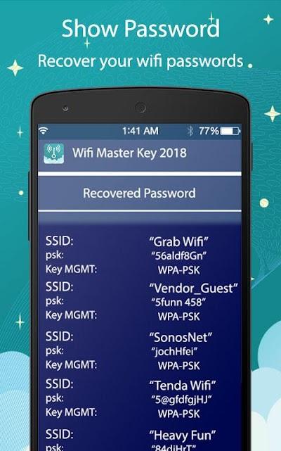 Master Wifi Key Wifi Password Show 2018 Apk Download Apkindo Co Id