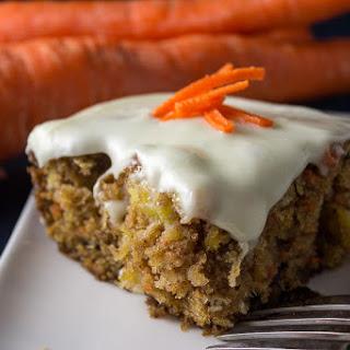 Super Moist Carrot and Pineapple Cake.