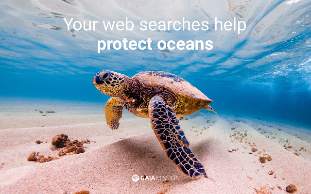Gaia Mission - Search the web & save oceans
