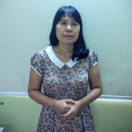 Mục sư Nguyễn Thị Hồng: - Học viên khóa học Coaching dành cho Người Lãnh Đạo (7/2016)