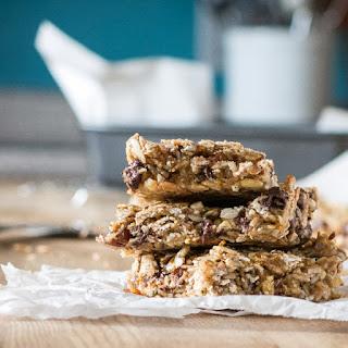 Nut-Free Granola Bars #vegan.