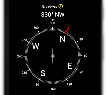 Digital Compass Screenshot